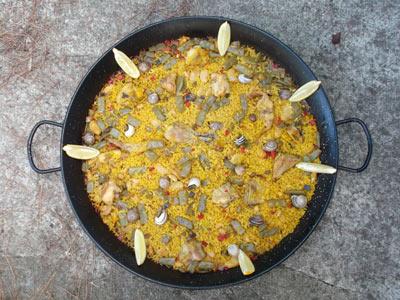 Receta paella valenciana final recetas de paella for Como hacer paella de verduras