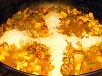 arroz para la paella mixta